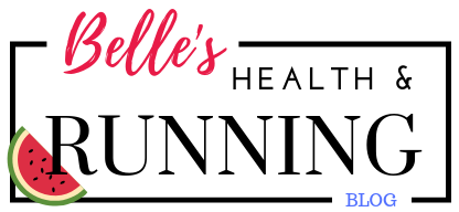 Belle's Running blog