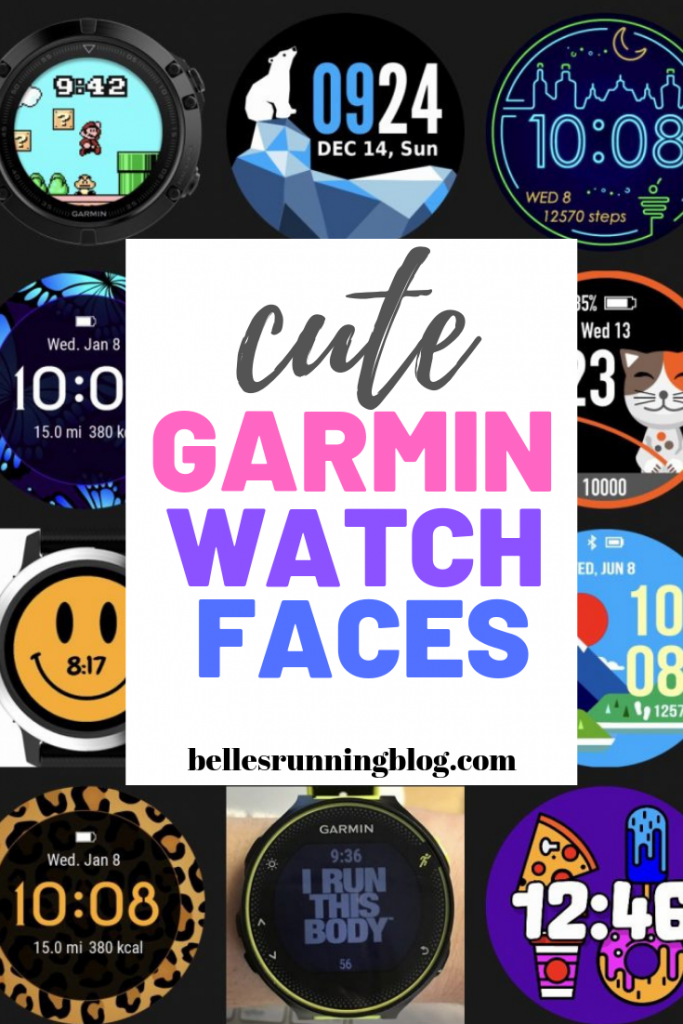 Cute Garmin Fenix 5s Watch Faces | Sports watches for women