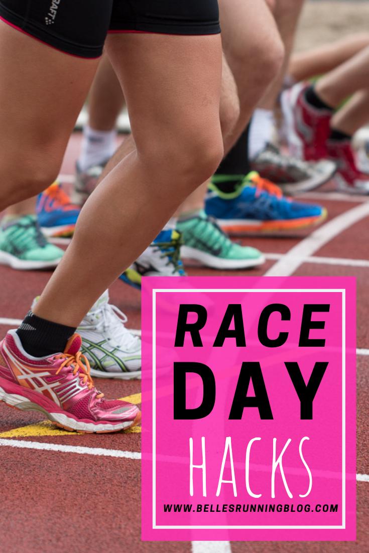 Race day hacks | Beginners running tips | Belle's Running Blog