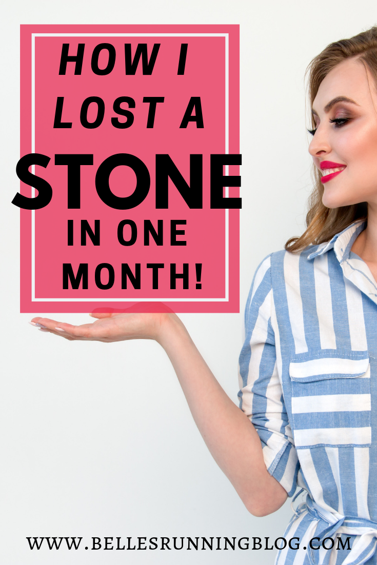 how I lost a stone in one month | healthy eating + healthy living