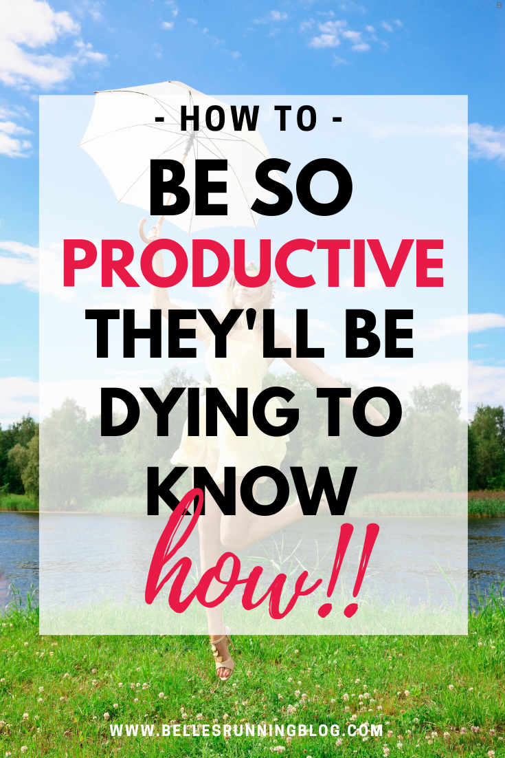 How to have an exceptionally productive day