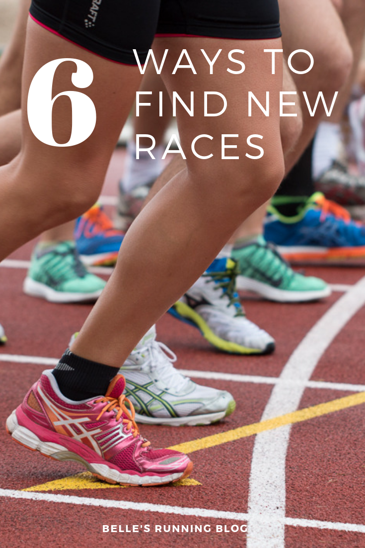 How to find new races | race day tips
