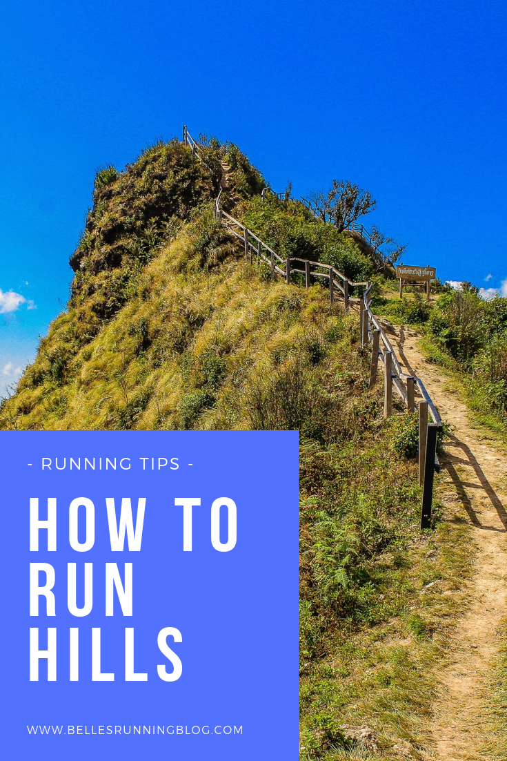 how to run hills | beginners running tips