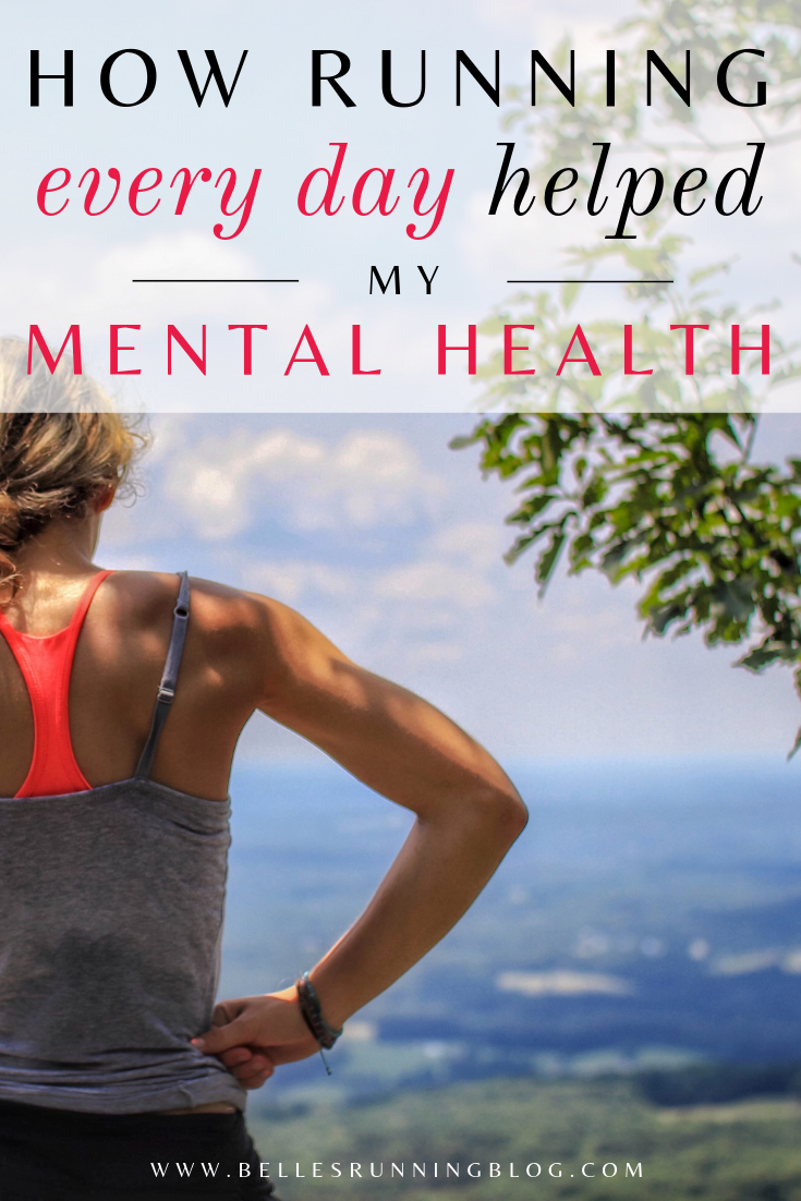 running every day | mental health and running