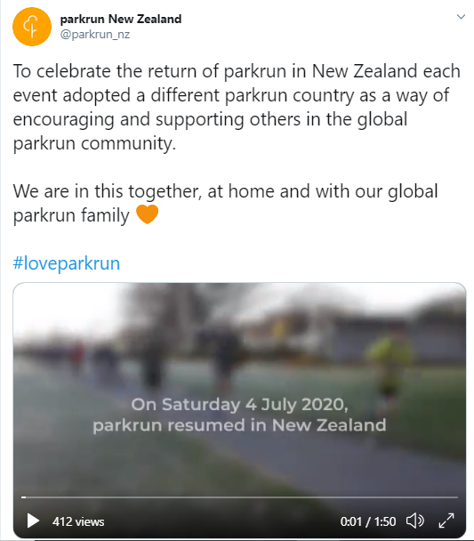 parkrun running news