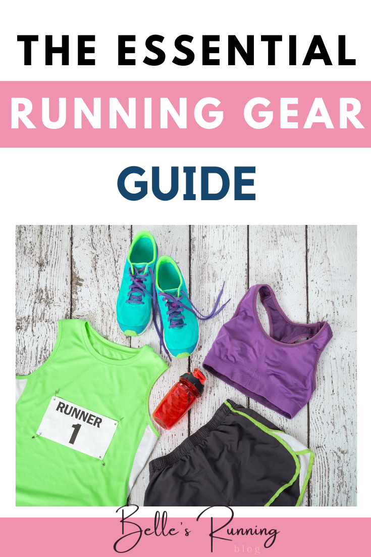 The beginners guide to running gear. New to running but not sure which are your running essentials? Here is a list of things you absolutely must get if you're starting to run. #runninggear #beginnersrunning #running